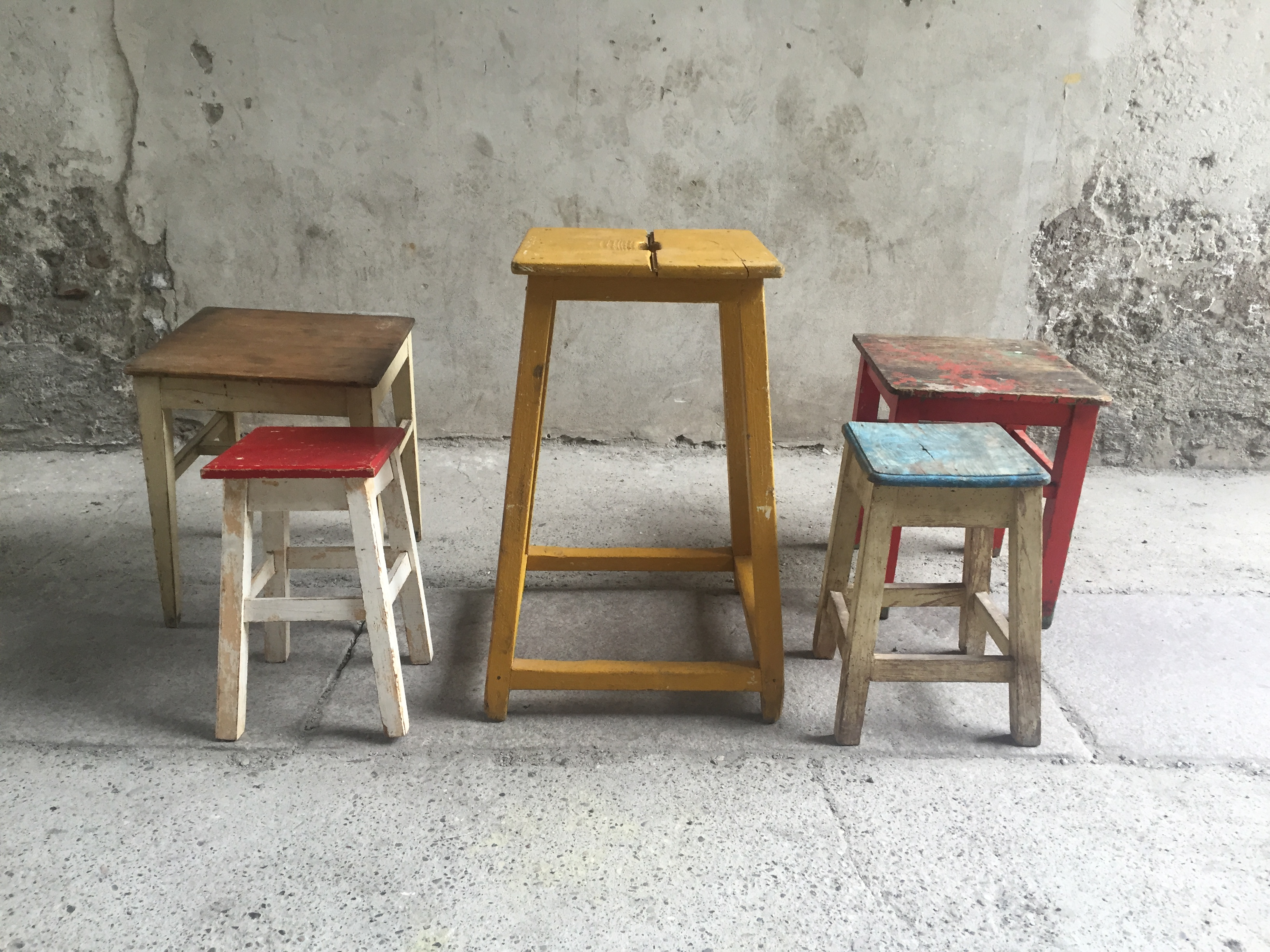 Sgabelli legno colorati u foto n s « fa